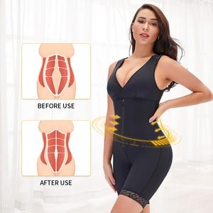 Fajas Women's Binders and Shapers Waist Trainer Corset Butt Lifter Slimming Underwear Bodyshaper Lingerie Modeling Strap Tummy