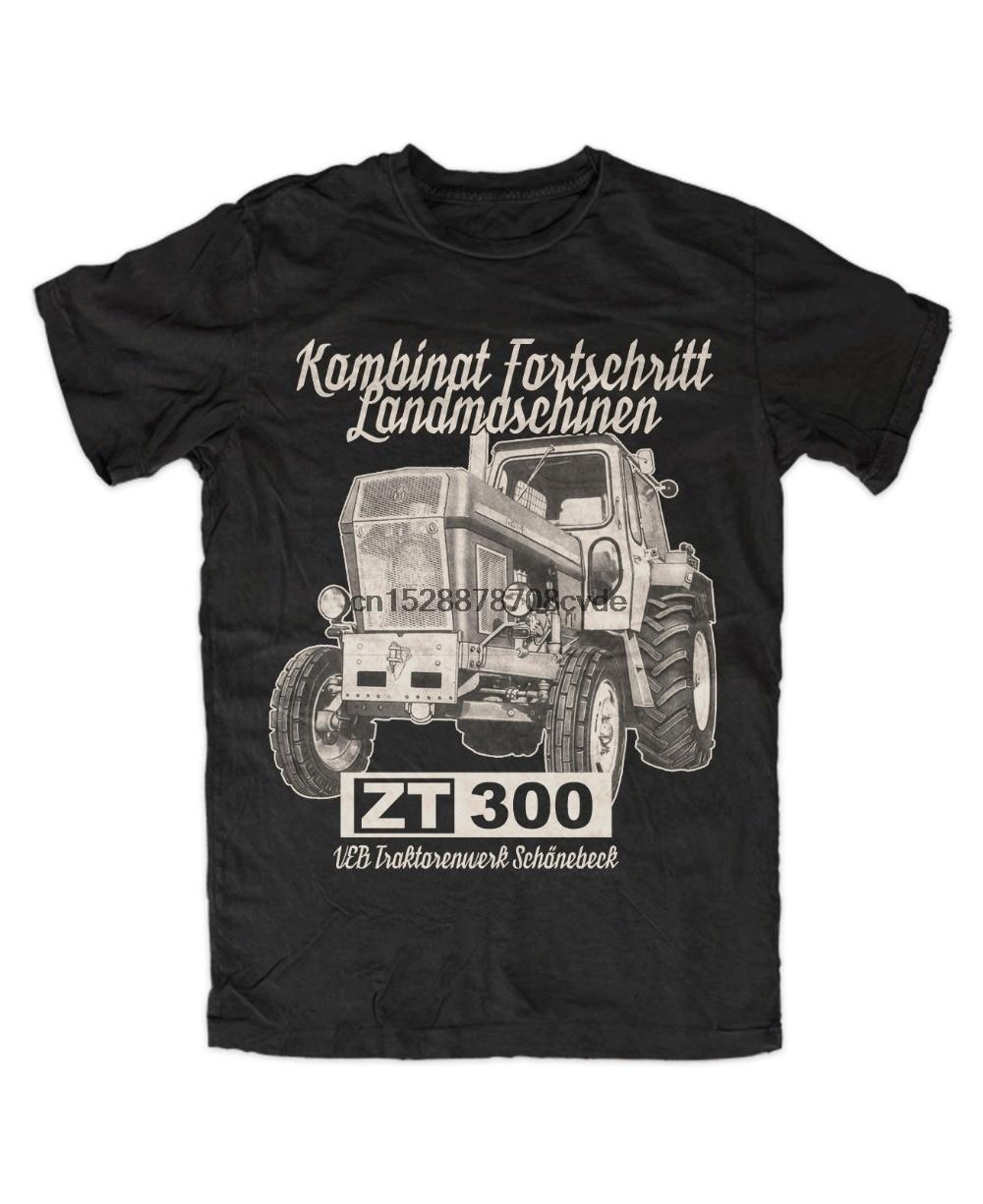 2019 el más nuevo hombres ZT 300 camiseta SCHWARZ 303 305 Traktor IFA de Agra Fortschritt Schonebeck T camisa