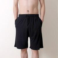 New summer large size men\'s shorts cotton modal casual home pants thin section large size loose shorts pajamas men pajama pants