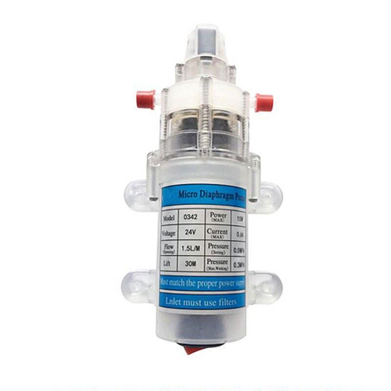 12V 24V 15W Mudo food grade pequena bomba de água, dispensador de Água bomba de auto-priming, bomba de água micro diafragma