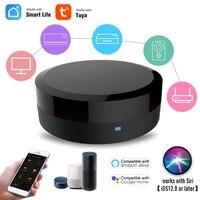 Hub de controle intelligent universel WiFi   IR  telecommande intelligente IR  application Tuya  fonctionne avec Google Assistant Alexa Siri