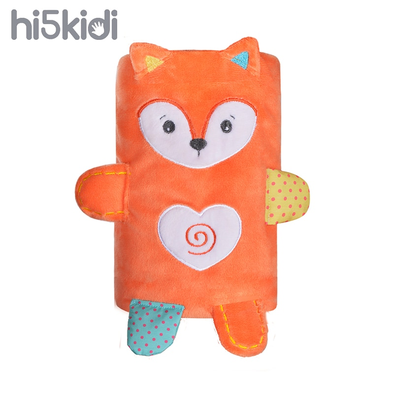 HI5KIDI Plush Blanket Newborn Doll Children Pure Cotton Cartoon Cute Animal Thick Fox