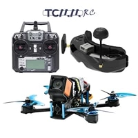 tcmmrc fpv flysky fs i6x bully 5 inch racing drone remote control 2 4 ghz 10 ch for rc helicopter multi rotor drone