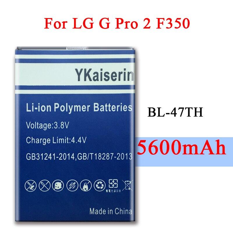 Батарея смартфона стабильное напряжение BL-47TH 5600 мАч для LG Optimus G Pro 2 F350 D837 D838 LTE-A BL 47TH сменные батареи