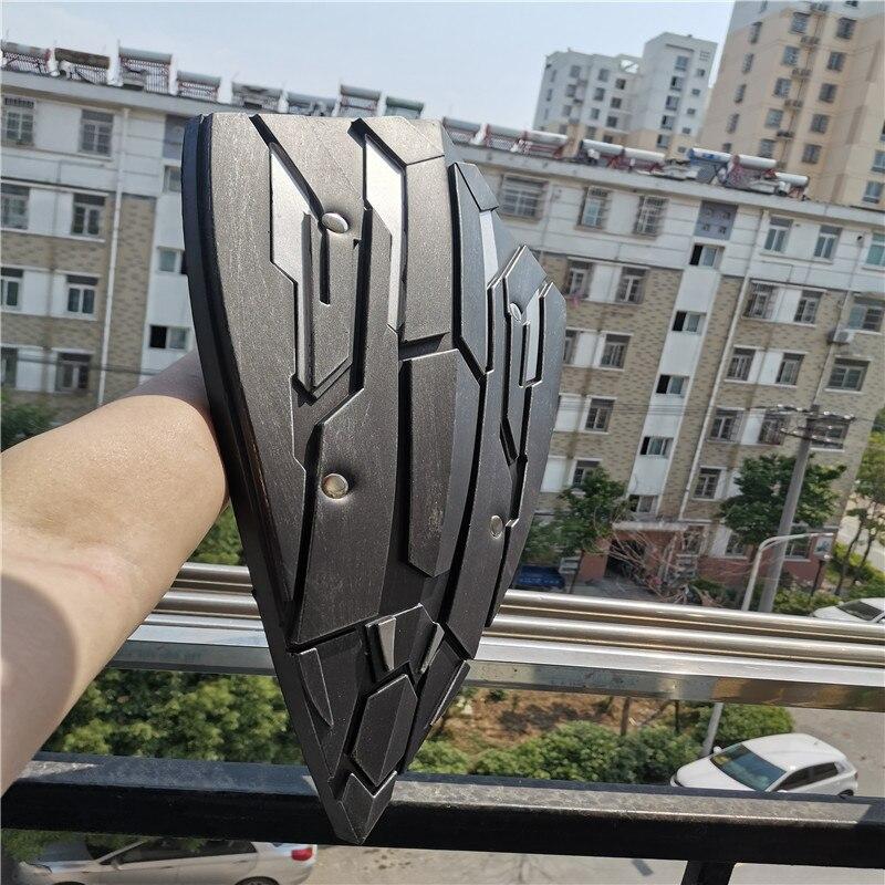 Купить с кэшбэком Cosplay Captain Super Heroes Shield Prop Weapon Role Playing Captain  54cm PU Model Props Shield Halloween Gift