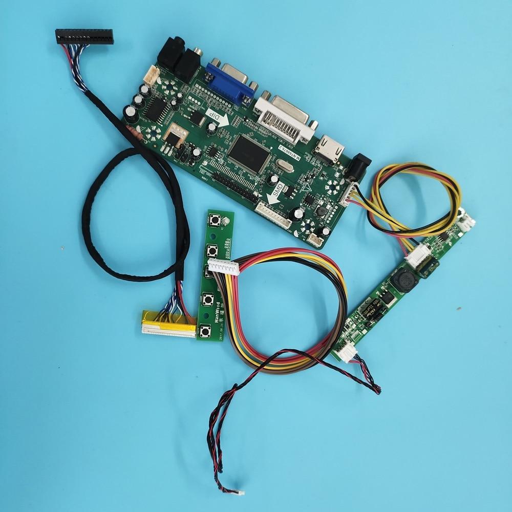 Kit para M215HNE-L30 rev. c3/rev. c1 controlador placa 1920x1080 30pin painel de áudio lvds m. nt68676 display led hdmi + dvi + vga monitor