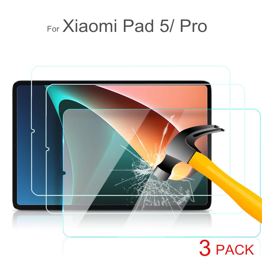 3Piece Glass Protector for Xiaomi Pad 5 Mi pad 5 Pro Screen Protective Film for Xiaomi MiPad 1 2 3 4 5 Screen Protectors