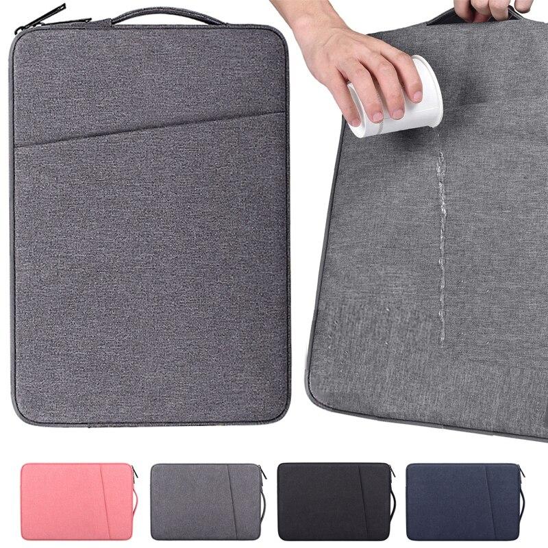 2021 Waterproof Laptop Bag Cover 13.3 14 15 15.6 inch Notebook Case Handbag For Macbook Air Pro Acer Xiaomi Asus Lenovo Sleeve