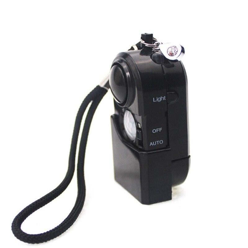 Sensor pir mini120dB inalámbrico, alarma de seguridad para el hogar, portátil, sistema de alarma antirrobo, sensor fir chino