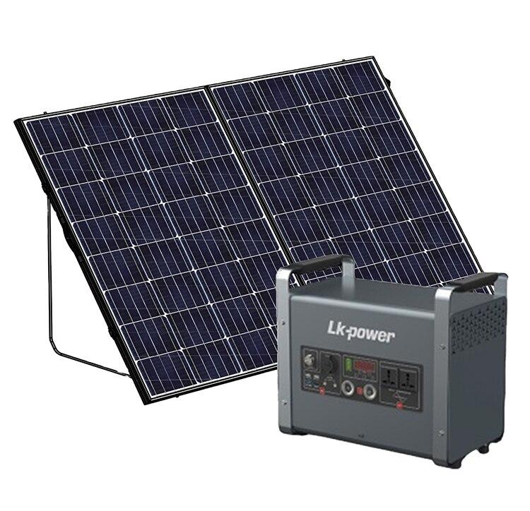 خارج الشبكة محطة طاقة شمسية نظام الطاقة 3000 واط المحمولة مولد للطاقة الشمسية للاستخدام العائلي