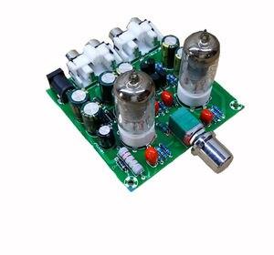 1 set 6J1 Tube Preamp Stereo Amplifier Board Pre-amp Headphone Buffer Assembly