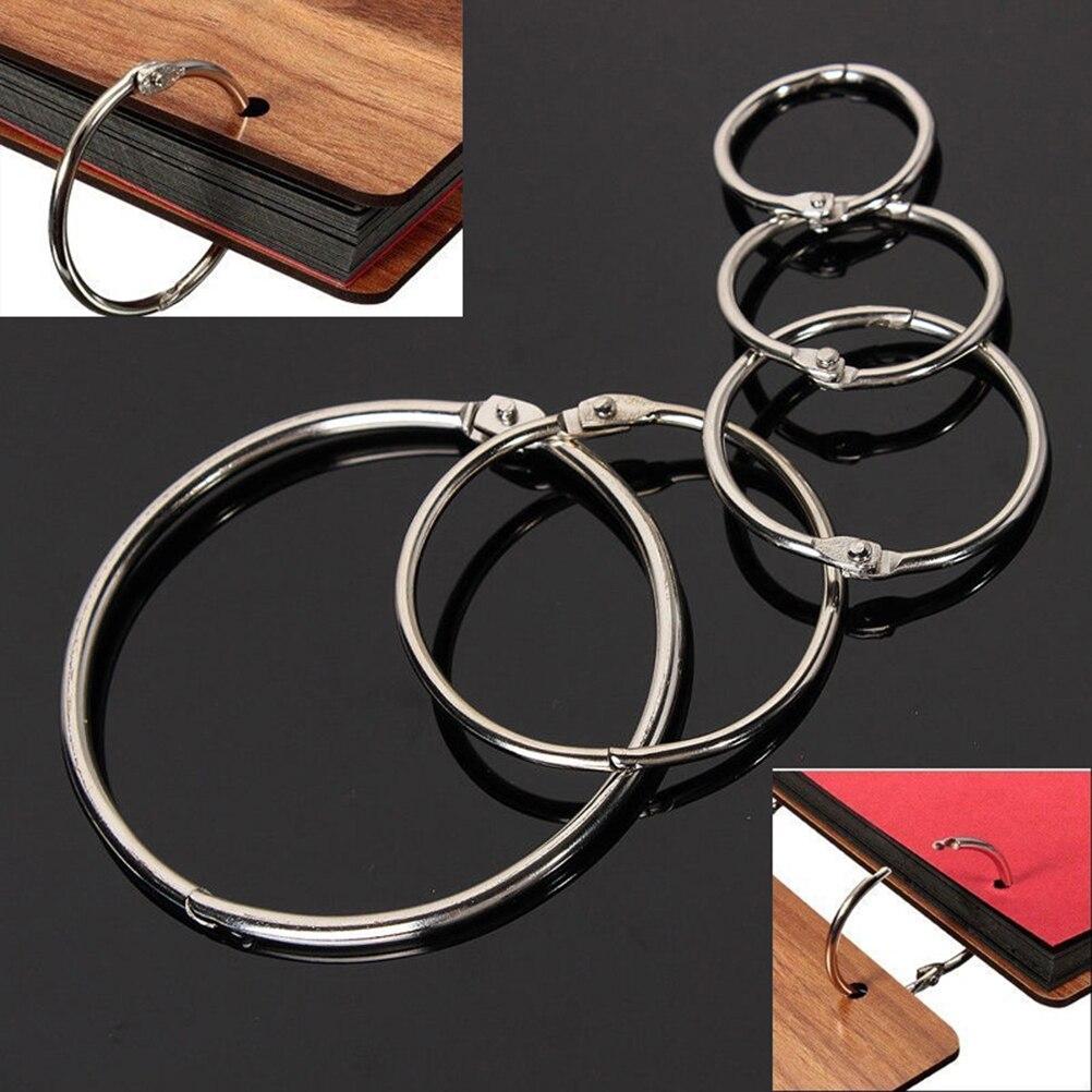 10pcs-anello-di-metallo-legante-sciolto-foglia-libro-cerchi-incernierato-anelli-portachiavi-leganti-fai-da-te-photo-album-scrapbook-split-ring-19-millimetri-75-millimetri