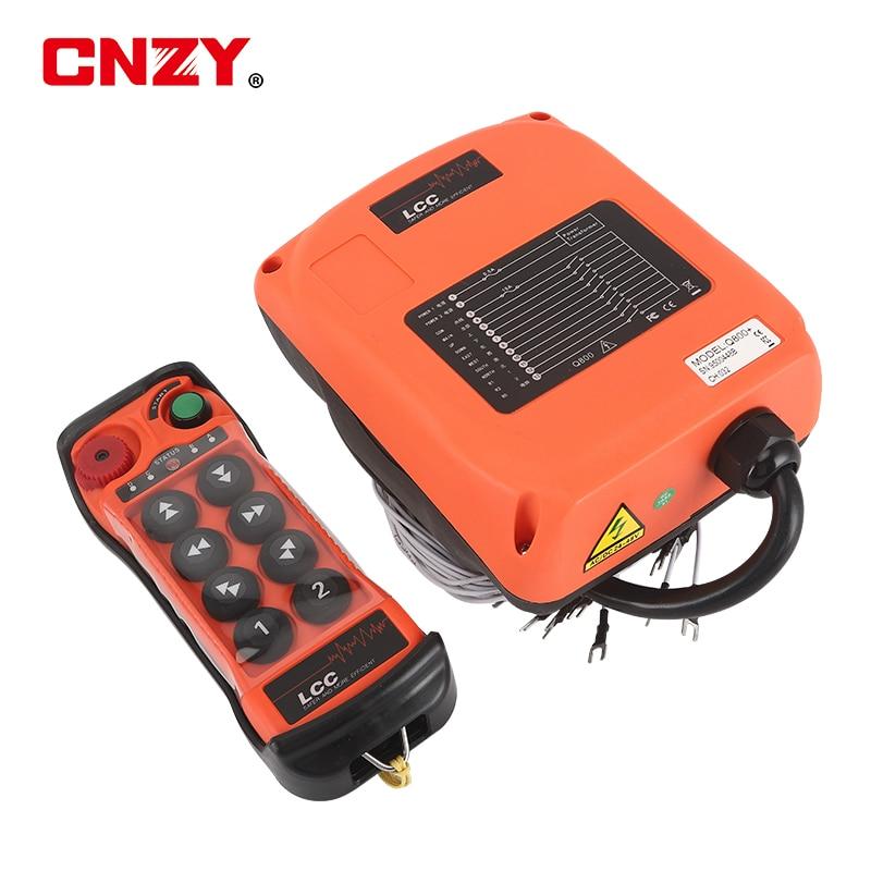 LCC-Q800 8 نقطة واحدة سرعة MD القيادة اللاسلكية التحكم عن بعد 8 مفتاح الصناعية التحكم عن بعد كرين رافعة كهربائية عن بعد يخدع