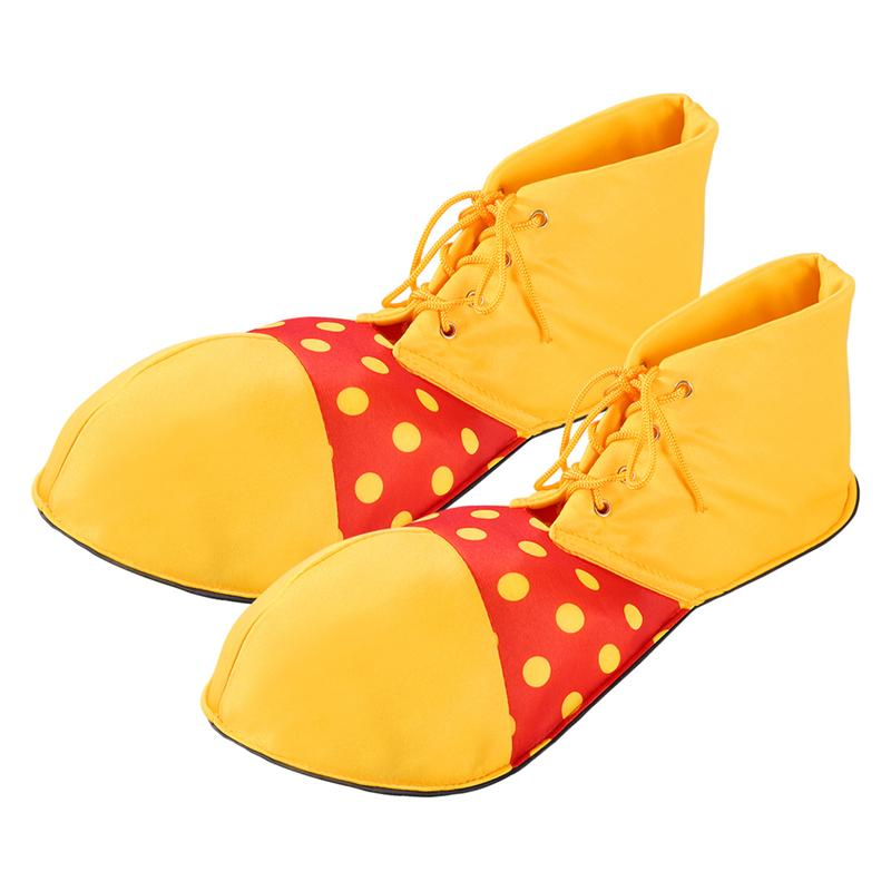 Large Clown Shoes Dot Halloween Costume Party Props Clown Shoes Cosplay Character Play Clown Boots D