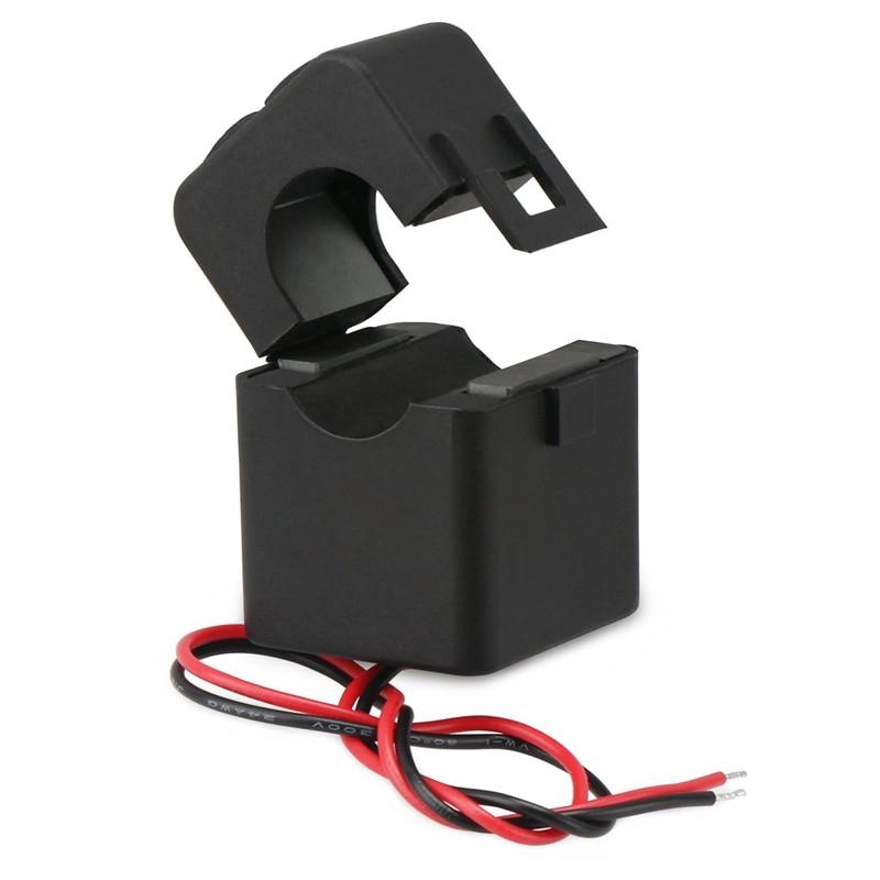 Transformador de corriente caliente SHGO, Sensor de corriente CA de 100A 100MA, relé de detección de transformador de amperios de núcleo dividido, Mini Clip fácil de instalar