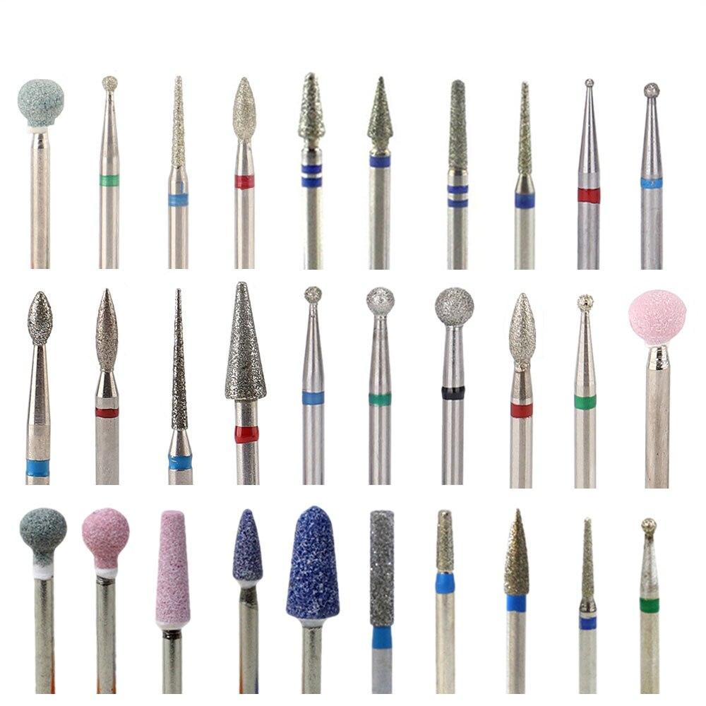 Алмазные фрезы TP для маникюра, роторные фрезы для ногтей, аппарат для электрического педикюра, оборудование, средство для удаления кутикул, ... недорого