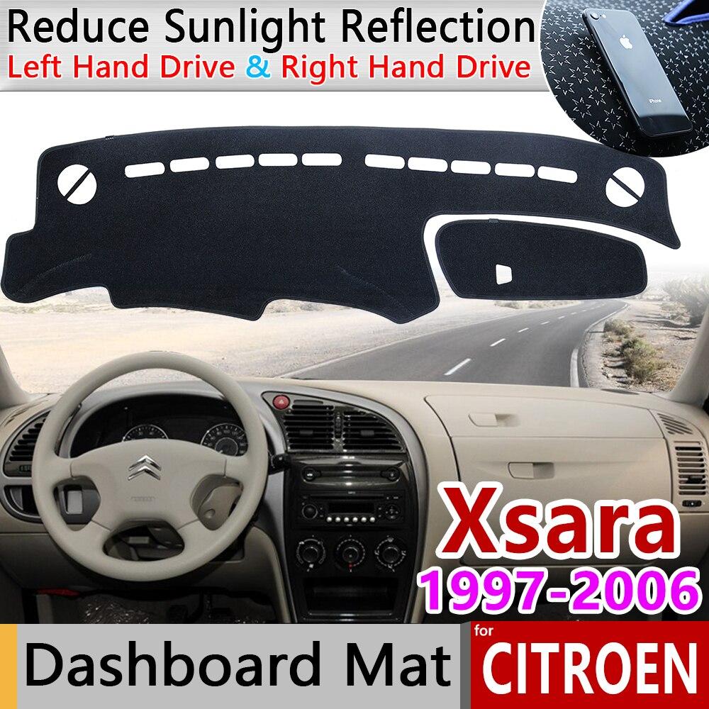 Para Citroen Xsara 1997, 1998, 1999, 2000, 2001, 2002, 2003, 2004, 2005, 2006 Anti-Slip Mat panel de cubierta parasol salpicadero Accesorios