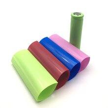 20 pièces/lot pour 20700 enveloppe de batterie PVC thermorétractable gaine pré-découpée chaque 77mm Batteries couvrant