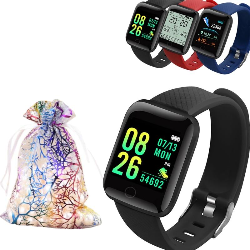 Умные часы с Bluetooth, измерение кровяного давления, умные часы для мужчин и женщин, часы для Android и IOS, подарок