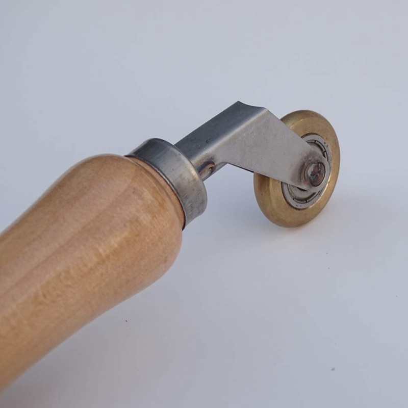 6mm Brass Penny Roller with Ball Bearing Plastic Hot Air Plastic Welder Tool Welding Soldering Supplies Welding Nozzles