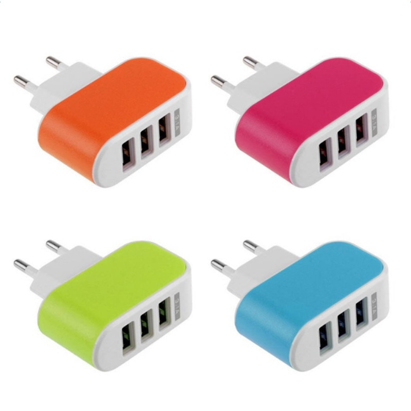 EU Plug USB Charger 5V Fast Charge For IPhone X 8 7 IPad Fast Wall Charger For Samsung S9 Xiaomi Hua