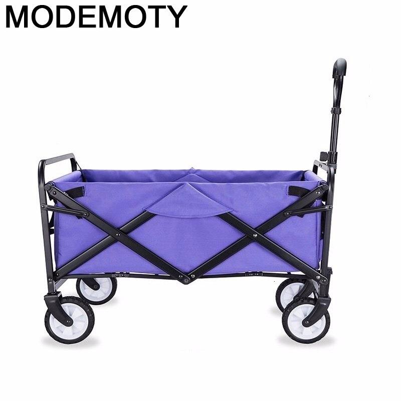 Carrito De la compra Plegable, carrito De almacenamiento, mesa De cocina