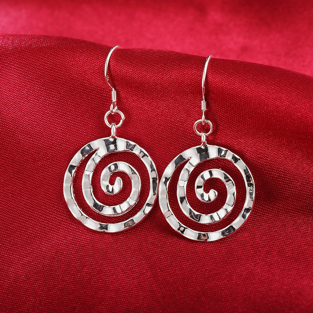 Новый-925-стерлингового-серебра-серьги-для-темперамент-женщин-ювелирные-изделия-все-матч-спираль-круглые-серьги-подарок-на-день-рождения
