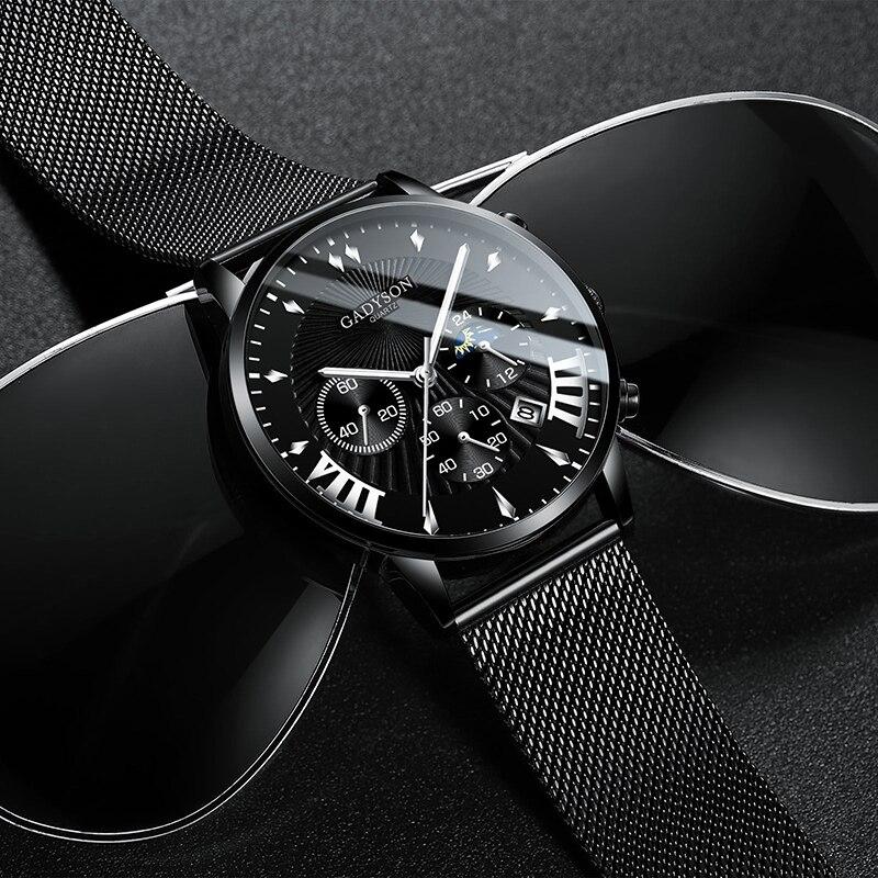 Fashion Mens Watches relogio masculino Geneva Brand Luxury Men Watch Casual Quartz Watch Men Male Clock Gift relojes para hombre