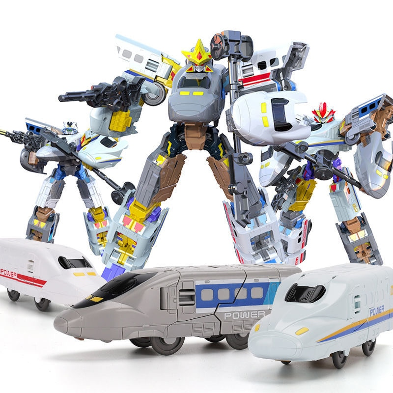 29cm Figure Toy Robot Transformers Toys Child Toys Rail Robot Deformation Metal Warrior VS Transformers Toys For Boy