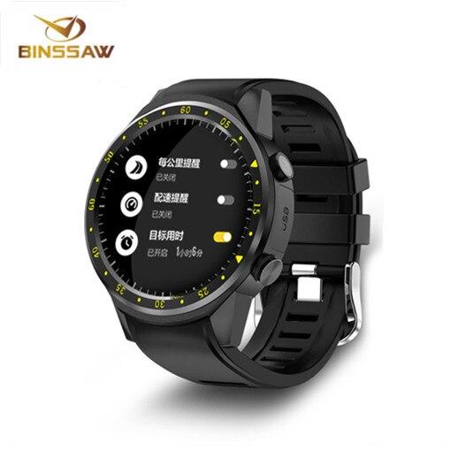 BINSSAW חדש F1 GPS ספורט smartwatch עם מצלמה מד גובה תומך קצב לב smartwatch עבור IOS אנדרואיד טלפונים