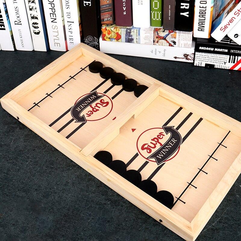 Твердая древесина 56 см катапульты шахматы бампер шахматы родитель-ребенок интерактивные Монтессори детские игрушки настольная игра для взрослых дропшиппинг