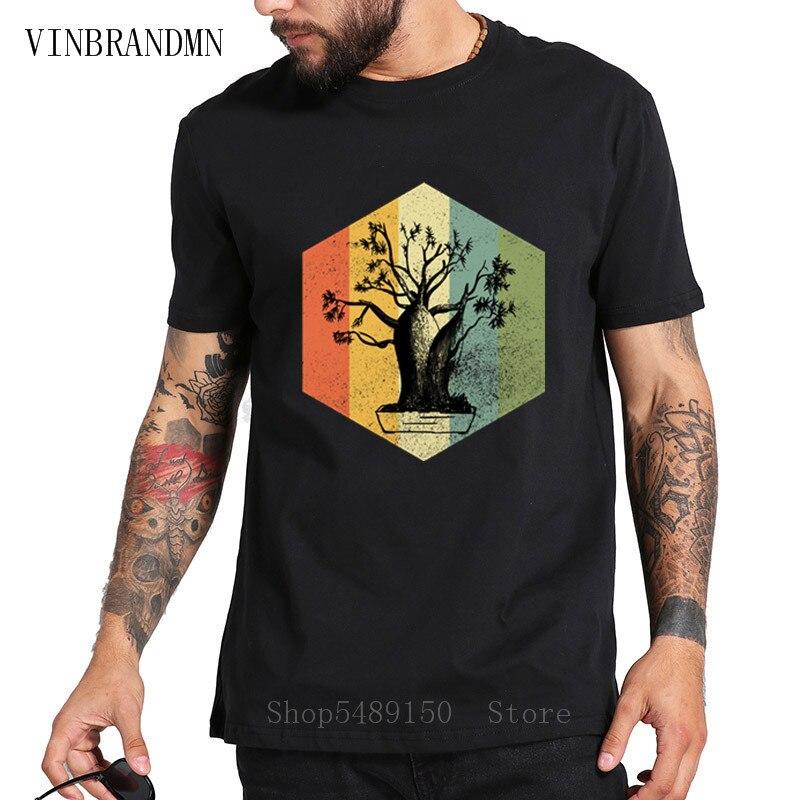 Gran oferta camiseta Vintage con estampado de árbol Bonsai Retro Karate chico Miyagi Do Movies camiseta de talla grande XS-3XL Hip Hop divertido Cobra