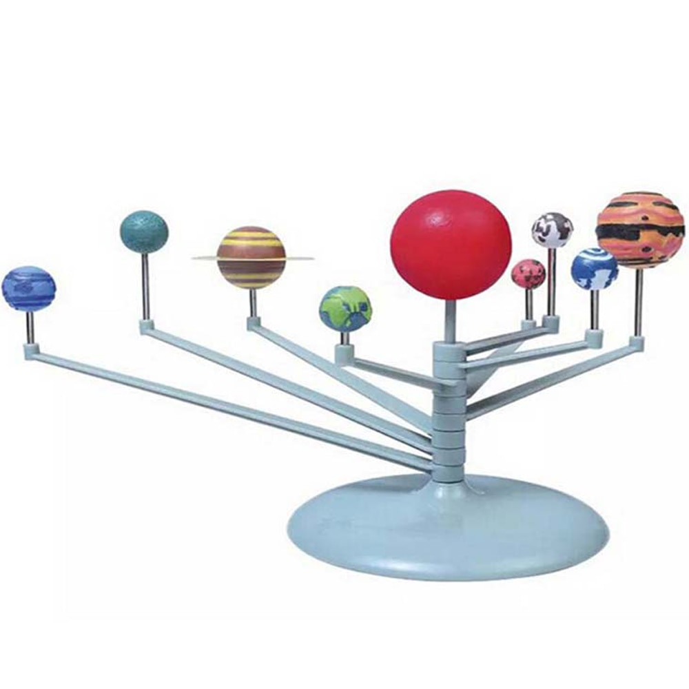 Solar System Nine Planets Planetarium Model Kit Astronomy Science Project DIY Kids Gift Worldwide Sa
