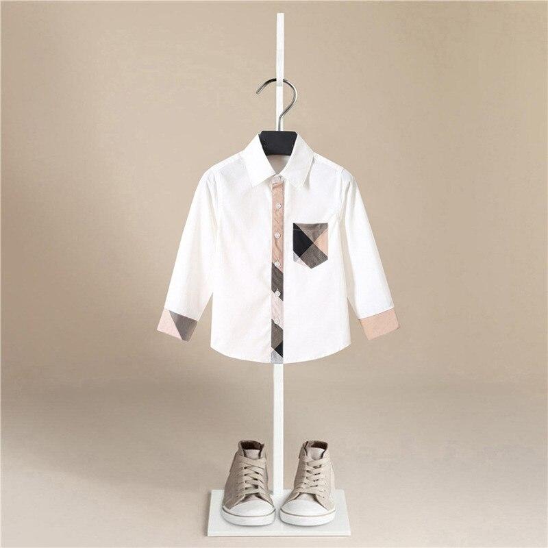 الأطفال الفتيان قمصان 2020 ربيع الخريف الاطفال طفل قميص لصبي طويلة الأكمام بلايز الطفل المطبوعة الفتيان الملابس طفل صبي بلوزة