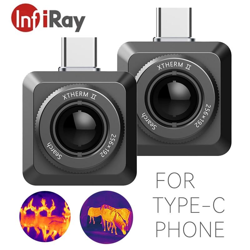 InfiRay كاميرا حرارية للهاتف الأشعة تحت الحمراء كاميرا تصوير حراري أندرويد نوع C USB مايكرو تسعى كاميرا تصوير حراري فيديو وصور