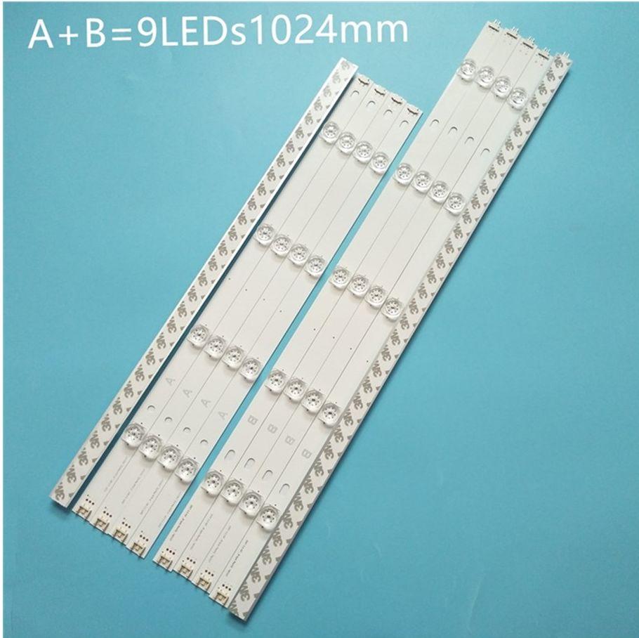 100% جديد 10 قطعة/المجموعة LED قطاع ل L G 49LB6200 49LF5500 49LB570U ZJ 49LB572U ZP 49LB570U ZK 49LF5610 LG inنوت k DRT 3.0 49 B نوع