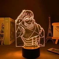 3d lamp anime decoration led panel lights my hero academia childrens night light free shipping for bedroom table lamp