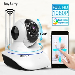 1080P Cloud IP HD Home Camera Security Surveillance Camera Auto Tracking Network WiFi Office Baby/Nanny Wireless CCTV Camera
