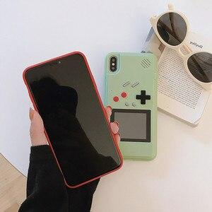 Image 4 - Игровой чехол Tetris Gameboy для iphone 12, 11 Pro Max, 7, 8, 6, 6S Plus, Ретро Чехол для консоли Game Boy для iphone XS, Max, XR, X, SE, чехол