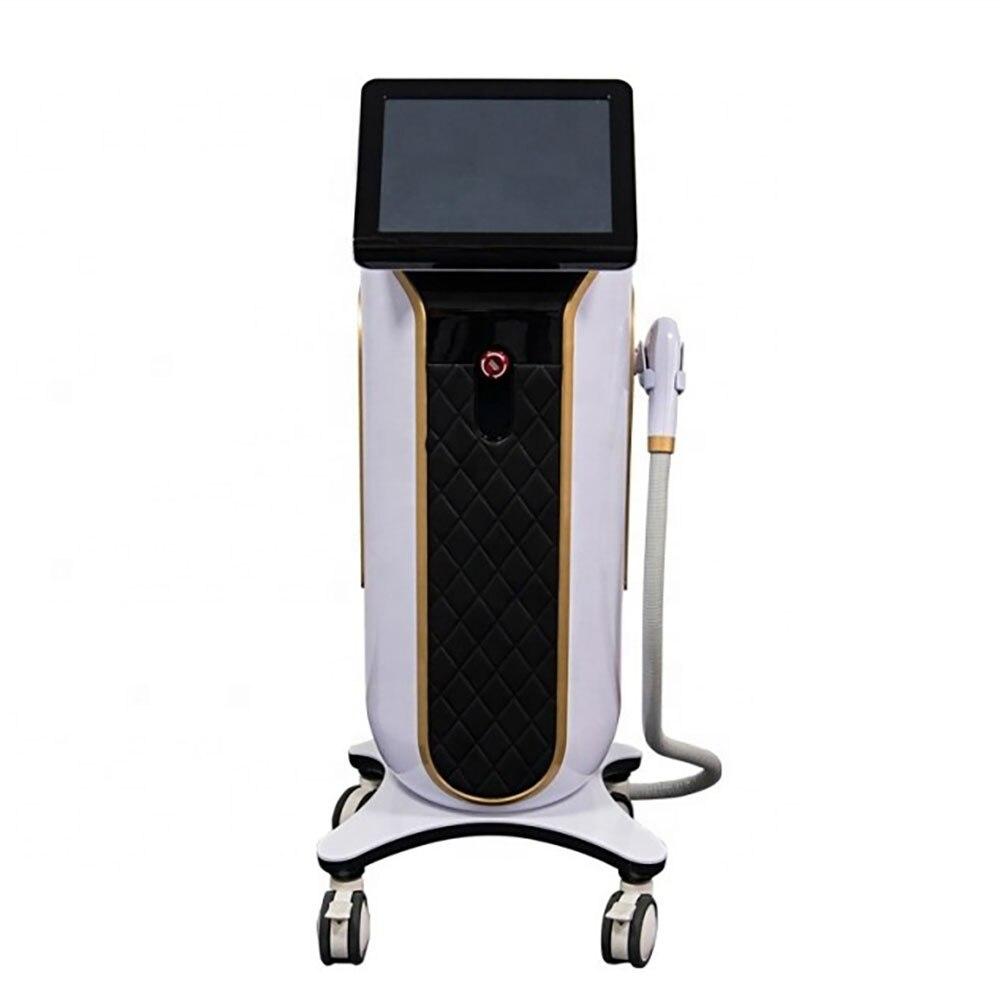ديود آلة إزالة الشعر 808 الطول الموجي سريع مؤلم جهاز إزالة الشعر الدائم ديود ليزر