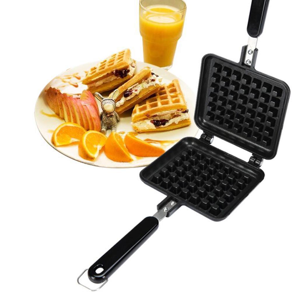 1pc não-vara bolo waffle molde fabricante diy muffins molde bakeware máquina de ferramentas de cozinha suprimentos