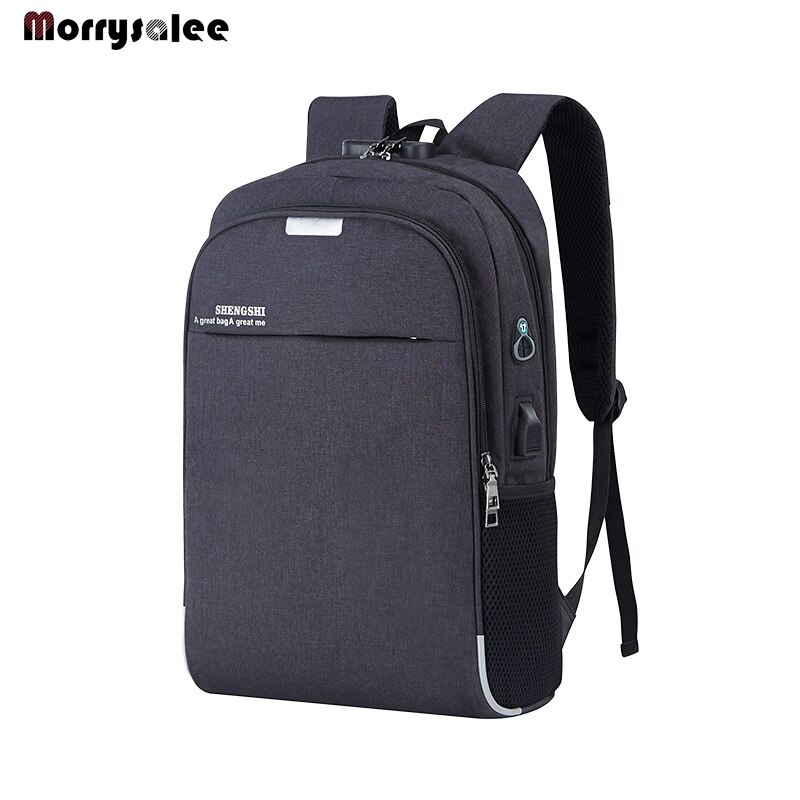Mochila para ordenador portátil, mochila escolar antirrobo de 15,6 pulgadas con carga USB para hombre y mujer, bolso para estudiante de alta calidad para hombre