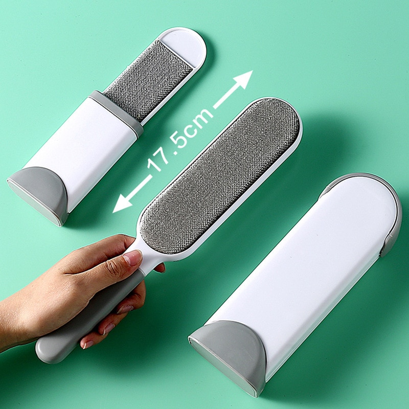 Magic Lint Remover Clothes Lint Roller Reusable Hair Cleaning Brush Static Dust Brush Household Coat