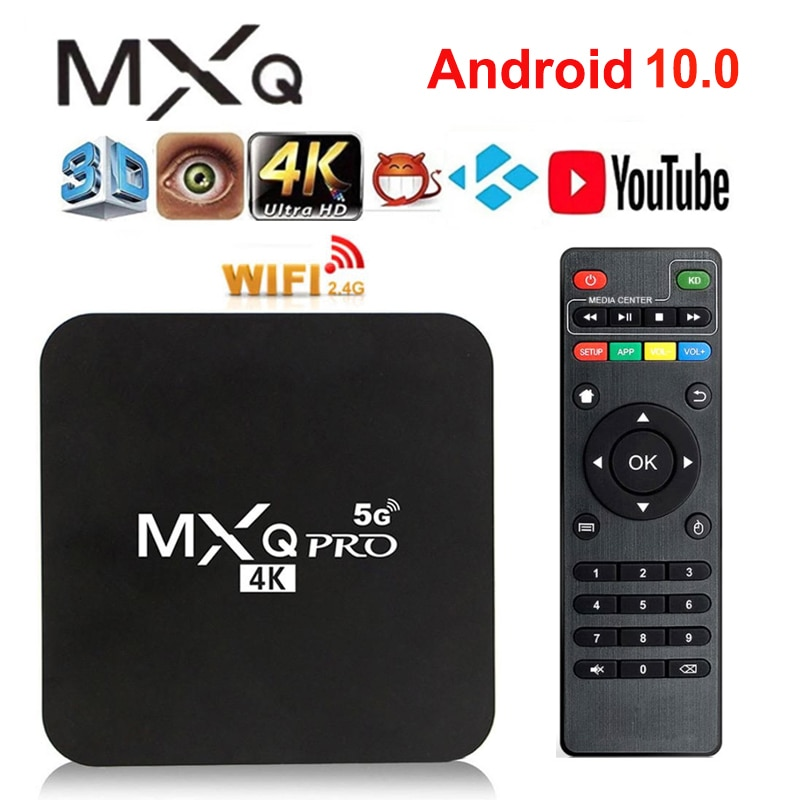 Фото - for MXQ PRO Smart TV Box Android 9.0 4K 2.4G&5G WiFi Amlogic S905W 2GB 16GB HD 3D Android TV Box Media Player 1080P Global mxq pro 5g 4k android smart tv box quad core amlogic cpu s905w 2gb 16gb 3d android10 0 tv box 2 4 5g wifi 1080p hd media player
