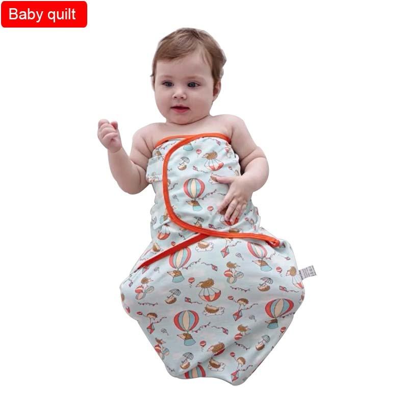Baby holding quilt Cotton Cocoon type anti startling towel Swaddling towel Newborn swaddling sleeping bag 2 pieces towel set 2 pieces saheser towel set 2 pieces