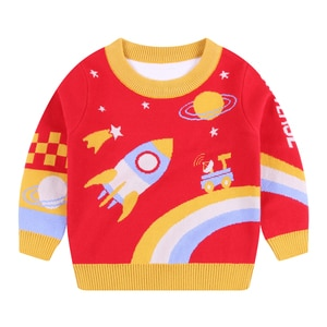 Boys Sweaters Pullover Shirt Tops Jacket Winter Autumn Long Sleeves Toddler Kids Spring Clothes Children's Clothing