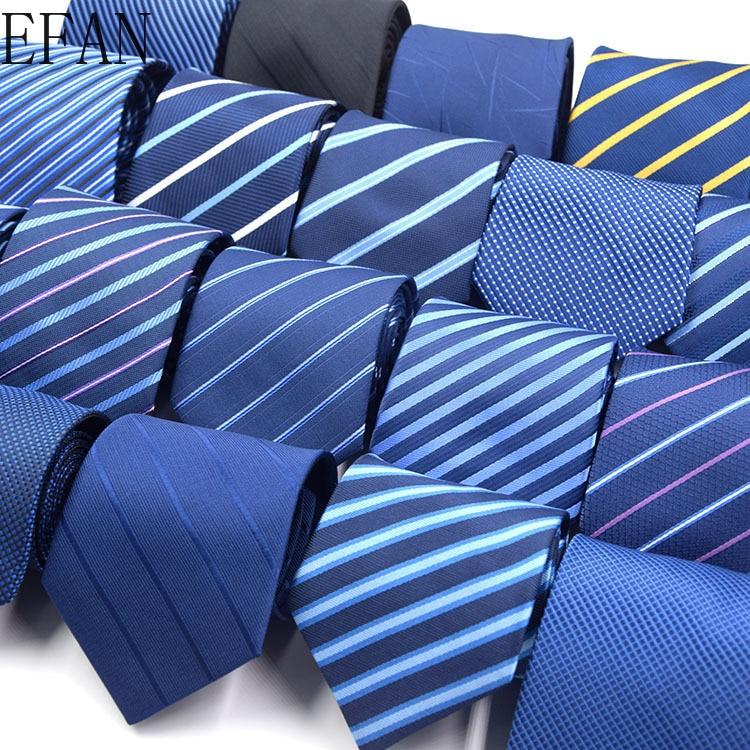 wedding men s tie 8cm red stripe dot neck ties for men blue soild necktie classic business tie gravat accessories gift for men Classic Blue Black Red Necktie Men Business Formal Wedding Tie 8cm Stripe Plaid Neck Ties Fashion Shirt Dress Accessories