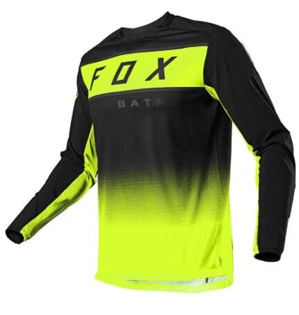 AliExpress - Moto Bicycle Jersey Long Sleeve Cycling Enduro Mtb Shirt Downhill T-shirt Camiseta Motocross Mx Mountain Bike bat Fox Mtb