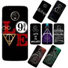 Erilles Potter Love Phone Case For Motorola G5Plus G6Plus G4 G5 G5S G6 G7 G4Play G7Play E6Plus Transparent Phone Case Cover