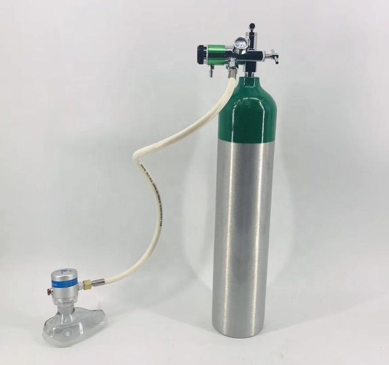 Nachfrage ventil mit 2-überprüfung ventil CGA870 regler für sauerstoff zylinder tank medizinische Notfall